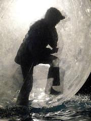 Bury Xmas Fair Walk on Water P1440967mods (Andrew Wright2009) Tags: burystedmunds suffolk england uk christmas xmas fair event walk water sphere globe