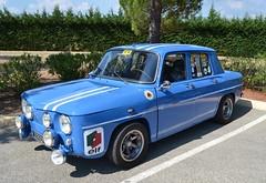 RENAULT R8 S (type R1136) - 1968 (SASSAchris) Tags: renault 8 s r8 voiture française losange rallye castellet circuit ricard type r1136 2 tours dhorloge
