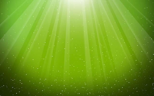 Обои свет, веер, капли, зеленый, лучи картинки на рабочий стол, фото скачать бесплатно