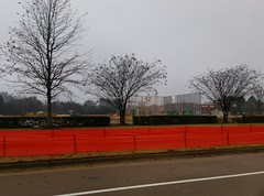 First walls of the new Southaven Chick-fil-A going up, December 2018 (l_dawg2000) Tags: 2019 breakfast chicken chickfila cows desotocounty drivethru fastfood goodmangetwell mississippi ms newconstruction restaurant silosquare snowdengrove southaven