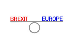 Balance between Brexit and Europe (wuestenigel) Tags: exit diplomacy voting economy no deal business politic union vote europe brexit political leaving balance eu symbol illustration geschäft text design sign zeichen graphic grafik image bild disjunct disjunkt desktop abstract abstrakt template vorlage isolated isoliert internet shape gestalten element paper papier technology technologie signalise signalisieren vector vektor