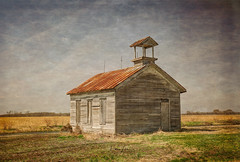 Shadows of the Past (Dawn Loehr Photography) Tags: dawnloehrphotography canon5dmarkiv tamron2470 school schoolhouse abandoned abandonment decay decayed rural ruraldecay
