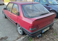 1993 Peugeot 309 GTI (FromKG) Tags: peugeot 309 gti red car kragujevac serbia 2019