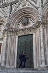 Front Doors, Siena Cathedral, Siena, Italy – Version 2 (Tatiana12) Tags: siena italy sienacathedral duomo architecture unescoworldheritagesite church art door doorway