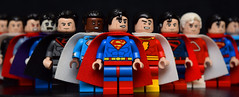 Supermen of The Multiverse (Andrew Cookston) Tags: lego dc superman grant morrison custom minifigs andrew cookston andrewcookston
