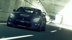 Nissan GT-R (Matze H.) Tags: nissan gtr gt sport gran turismo tuning drift tunnel japan spoiler wallpaper screenshot 4k uhd hdr hdr10 playstation 4 pro ps4