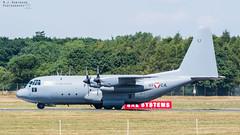 Austrian C-130 Hercules (M J Robinson Photography) Tags: 2018 arrivals riat royalinternationalairtattoo raf fairford thursday austrian air force austria lockheed c130 k c130k hercules aviation photography nikon d7100 nikond7100
