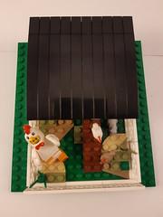 Chicken Coop (CooperR53) Tags: legochickencoop chickencoop lego chickensuitguy