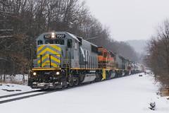 B&P RIBT @ North Pointe, PA (Dan A. Davis) Tags: ribt buffalopittsburgh bprr bp ltex kcs freighttrain train locomotive pennsylvania pa adrian northpointe geneseewyoming gw sd50 sd402 sd40t2
