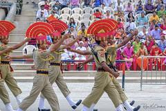Wagah ... (Bijanfotografy) Tags: fuji fujifilm fujixt2 fujifilmxf56mm12r xtrans india punjab wagah wagahborder indiapakistanborder parade show ceremony