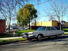 1966 Chrysler New Yorker (rickele) Tags: chryslernewyorker americanluxury fullsizesedan classiccar chromewheels customwheels foundonthestreet