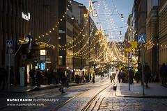 Christmas in Helsinki (Naomi Rahim (thanks for 4 million visits)) Tags: helsinki finland 2018 europe europa christmas xmas scandinavia night lights travelphotography travel nikon nikond7200 wanderlust lowlight street streetphotography
