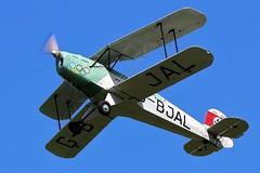 G-BJAL BUCKER JUNGMANN BREIGHTON (toowoomba surfer) Tags: biplane aviation aircraft aeroplane