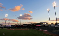 Greetings From Surprise Arizona (CODA: MARINE 475) Tags: college baseball stadium surprise arizona sunset clouds sky
