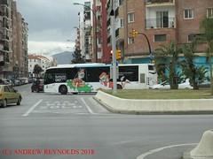 """2018 030616 Irisbus Citelis Magnus II CASTROSUA BUS 2009 EMT BUS 632 MALAGA (Andrew Reynolds transport view) Tags: europe spain andalucia transport bus coach transit passenger omnibus diesel """"mass transit"""" 2018 030616 irisbus citelis magnus ii castrosua 2009 emt 632 malaga"""