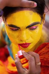 Kaveripattinam, 2019 (bmahesh) Tags: cwc cwc709 chennaiweekendclickers kaveripattinam tamilnadu india mahashivarathiri makeover kali facepaint portrait people life