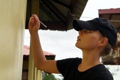 Préparation d'une fresque (infoglobalong) Tags: stage étudiant service bénévolat volontaire international engagement solidaire voyage découverte enseignement éducation école enfants aide alphabétisation scolaire asie thaïlande jeux sport art informatique rénovations