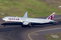 A7-BEP QR B77W 34L YSSY-2651 (A u s s i e P o m m) Tags: sydney newsouthwales australia au qatar qatarairways qr boeing b77w b777300er sydneyairport syd yssy