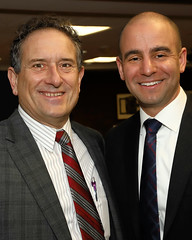 Rep. Andy Levin and David Kurzmann