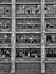 Shaw-Walker Furniture Company, Muskegon, Michigan—Pre-Demolition, August 2015. No. 1 of 2. (RichTatum) Tags: shawwalkerco shawwalker awshaw lcwalker muskegonmichigan walker shaw windows glass brokenglass bw black white blackandwhite mino monochrome building architecture city downtown urban urbanexploration muskegon michigan lines texture history historic landmark businessweek old abandoned warehouse industry retro empty muskegonmi westmichigan puremichigan mittenstate nortonshores nortonshoresmi nortonshoresmichigan 49441 skeetown lumbertown portcity