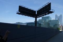Hudson Yards (Blinking Charlie) Tags: hudsonyards jacobkjavitsconventioncenter chelsea manhattan newyorkcity nyc newyork usa 2017 sonydscrx100m3 blinkingcharlie urbanlandscape lightandshadow 11thavenue billboard monopole photographer