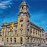 Brantford Ontario - Canada -  The Federal Building - Heritage - Architecture Beaux-Arts thumbnail