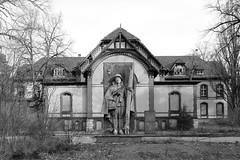 Abandoned sanatorium (mono:chrom) Tags: germany beelitz heilstätten hospital abandonedplaces abandoned lostplaces lostplacesgermany forgotten forgottenplaces decay bnw blackandwhite canon raw redarmy rotearmee urbex urbexplaces