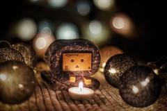 Christmas spirit... (slo.Metallc) Tags: danbo danboard toys toy christmas spirit newyear sonyilca99ii sony fun holidays candle lights