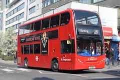 SL 19724 @ Station Parade, Barking (ianjpoole) Tags: stagecoach london alexander dennis enviro 400 lx11azj 19724 working route 287 abbey wood lane rainham barking train station
