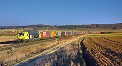 AlphaTrains/TX Logistik 193 556 Wettelsheim (tobias.unsin) Tags: railway rail railroad train zug güterzug germany bahn bavaria bayern locomotive lok logistik landschaft alpha tx txl