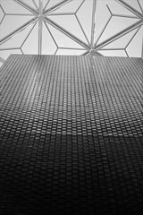 6Q3A8586 (www.ilkkajukarainen.fi) Tags: sweden ruotsi tukholma stockholm wall roof katto seinä blackandwhite monochrome mustavalkoinen national museum museo musée museet