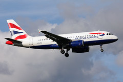 British Airways A319-131 (nickchalloner) Tags: geupa airbus a319131 a319100 a319 131 100 ba baw british airways london heathrow airport egll lhr