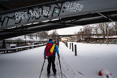 Pålsundsbron (David Thyberg) Tags: långfärdsskridsko winter nature skate sweden stockholm skating 2019 ice sverige se