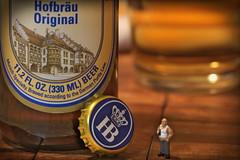 Hofbrau Munchen Original, beer. 2 (Mega-Magpie) Tags: canon eos 60d beer drink hb hofbrau munchen original est1589 beergut guy indoorwinterblues munich craft