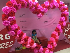 Herou preparing for valentines day :) (ghostgirl_Annver) Tags: asia asian boy brother child kid valentine day heart flowers