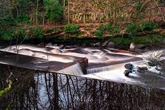 Chatelherault (dmuir@hotmail.co.uk) Tags: slowwater d5300 nikon longexposure chatelheraultcountrypark chatelherault lanarkshire northlanarkshire scotland waterfall