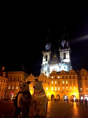 Old Town Square | Prague | Czech Republic (maryduniants) Tags: tyncathedral citynightlight panda czechrepublic praga praha prag prague oldtownsquare europe