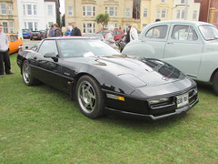 Chevrolet Corvette C4 G398PAH (Andrew 2.8i) Tags: show classic cars car mare super weston classics westonsupermare american gm generalmotors v8 chevy vette sports sportscar muscle coupe c4 corvette chevrolet