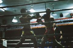 (Warat Kasitanon) Tags: thailand thaiboxing thai boxing decisivemoment moment film analog fuijifilm leica superia premium 400