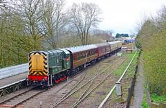 D3937 at St. Marys. (curly42) Tags: d3937 class08 dfr railway preserveddieselloco stmaryshalt deanforestrailway gronk