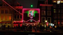 Theatre (Nicola Pezzoli) Tags: amsterdam netherland paesi bassi europe travel city theatre casa rosso red district night