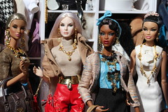 The girls (Isabelle from Paris) Tags: fashion royalty agnes adele natalia kyori