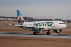 FFT A320 (djrxxs) Tags: cyycyyccalgary frontierairlines airbusa320