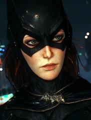 Barbara (Lynn Herberthe) Tags: batmanarkhamknight rocksteadystudios batman portrait screenshot