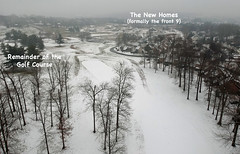 Aerial Snow Scenes - Jan 2019 -2 (KathyCat102) Tags: dji spark quadcopter drone aerial photography golfcourse gc