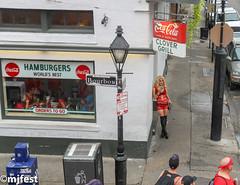 Red Dress Run (MJfest) Tags: bourbonstreet dress frenchquarter louisiana neworleans nola rdr rdr2016 red reddressrun