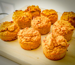 2019.02.08 Low Carbohydrate, Healthy Fat Pumpkin Muffins with Cream Cheese Filling, Washington, DC USA 09743