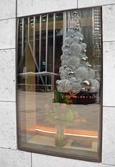 A Treeflection (BlueMan.) Tags: london victoria leica compact compactcamera colourcircles colourcircle christmas tree reflections reflection reflecting