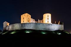 Château de Montrond les Bains (mick42m) Tags: castle chateau montrond montrondlesbains night longexposure nuit loire heurebleue bluehours canon canon77d 77d tokina 1116