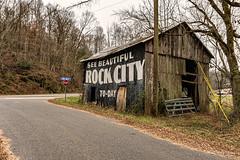 Garner Hollow Barn (Back Road Photography (Kevin W. Jerrell)) Tags: oldbarns barns rockcitybarns seymour tennessee seerockcity backroadphotography nikond7200 sigmalens nostalgic